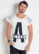 Camiseta Actual Mullet Masculina Branca