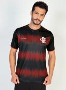 Camiseta Flamengo Part Preta