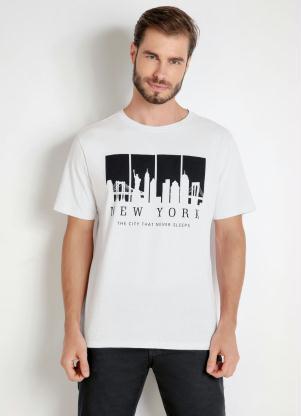 Camiseta Manga Curta (Branca)