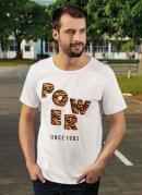 Camiseta Power Tiger Branca