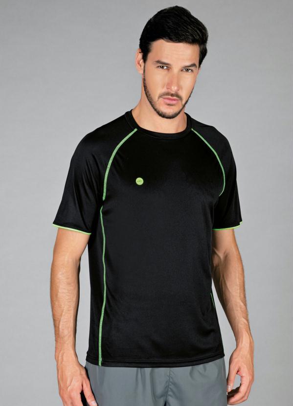 T-Shirt Olympikus Color (Preto)