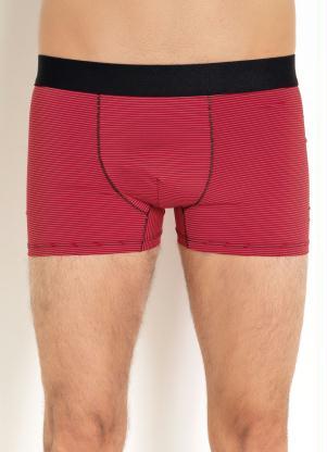Cueca Boxer com Elástico (Vermelha)