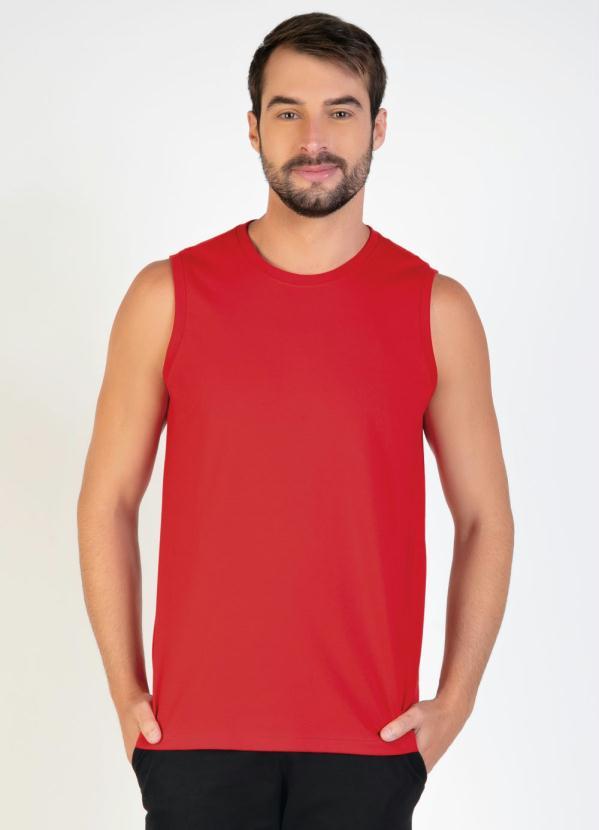 Regata Masculina (Vermelha)