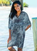 Vestido Saída de Praia Preto