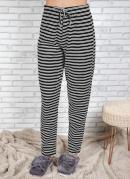 Calça Legging Feminina de Pijama Listrada
