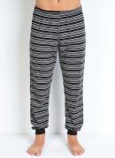 Calça Pijama Masculino Cinza e Preto