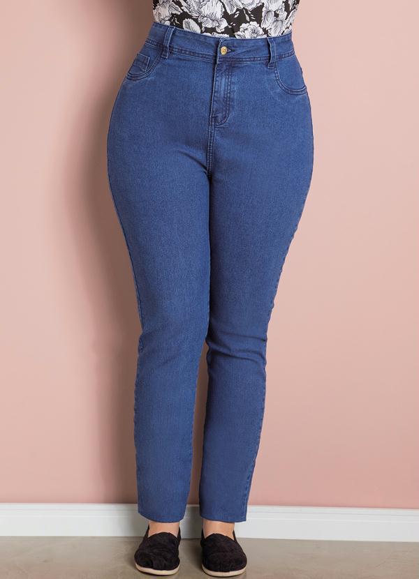 Calça (Jeans) Skinny Plus Size