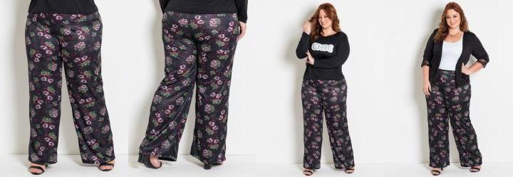 4bf9efaa8 Score: 0.0 Pantalona Floral Plus Size Marguerite