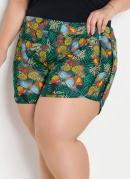 SHORT BOXER CASUAL (FLORAL) PLUS SIZE