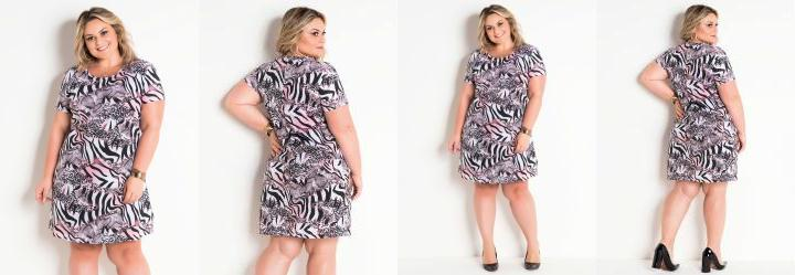 c18547c65 Score: 0.0 T-Shirt Dress Animal Print Plus Size Marguerite