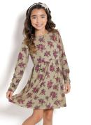 VESTIDO INFANTIL (FLORAL) KOLLOR MAGIC