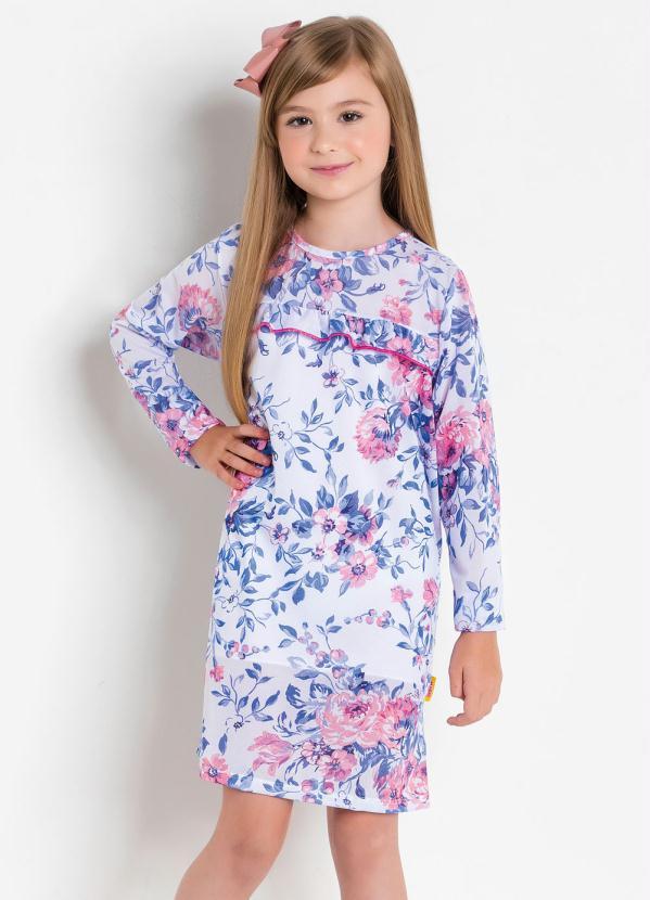 Vestido Infantil Kollor Magic (Floral)