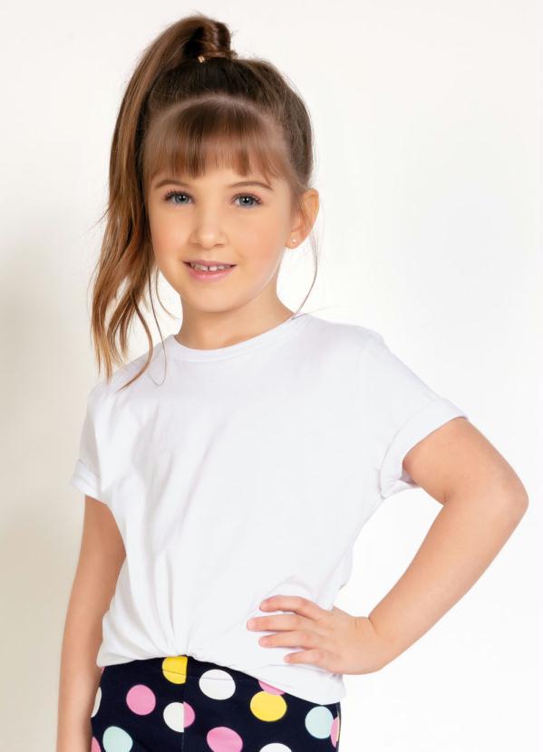 Camiseta Unissex Infantil (Branca)