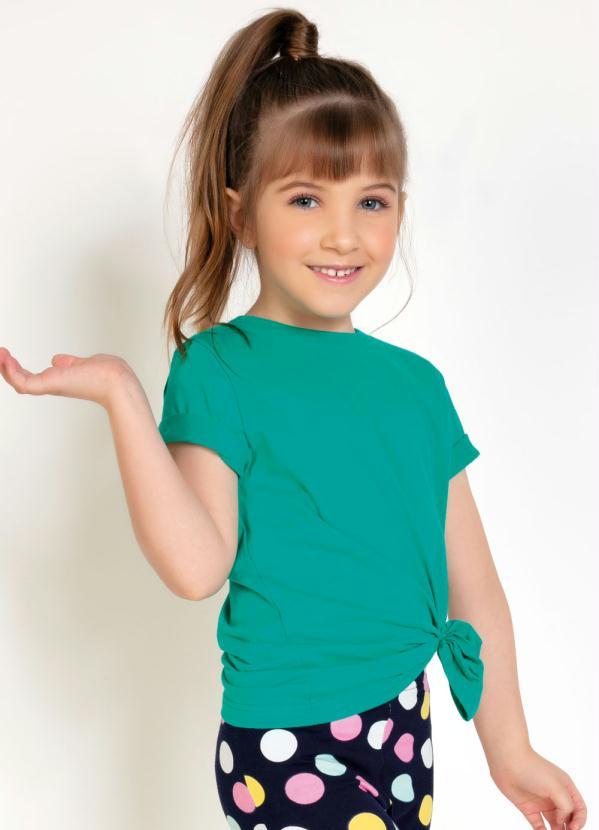 Camiseta Unissex Infantil (Verde)