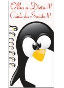 Adesivo Geladeira Pinguim Saúde