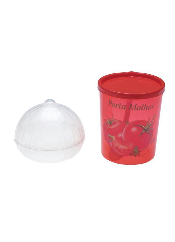 Kit Porta Molho e Cebola