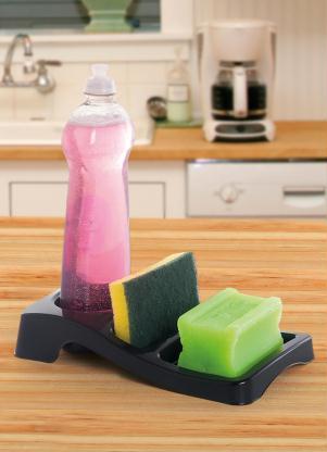 Porta Detergente, Esponja e Sabão